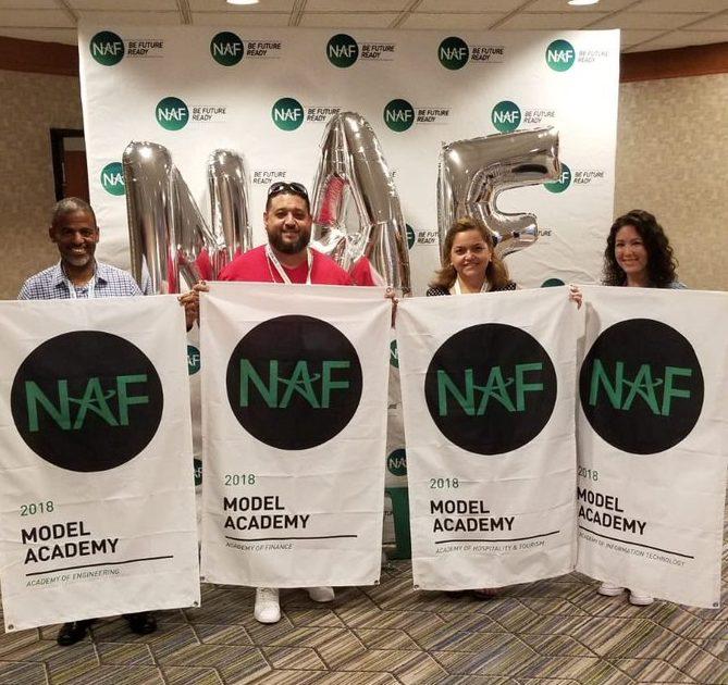 photo few teachers of NAF academies