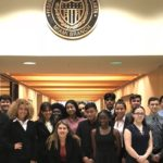 finance students at Federal Reserve branch