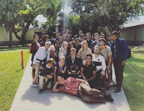 Congratulations, Coral Gables AOF Placing 1st, 2nd and 3rd