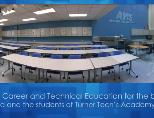 Christmas Came Early for Turner Tech's Academy of Medical Sciences