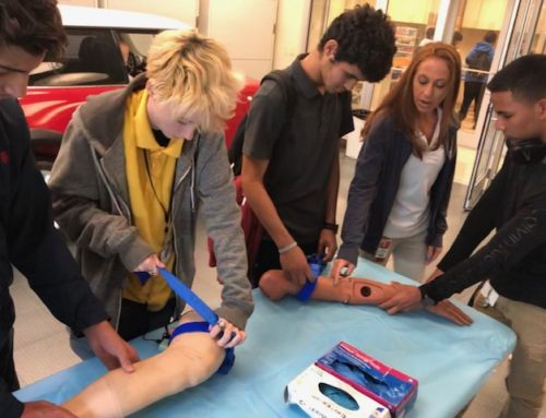 "Univ. of Miami Introduces Simulator ""Harvey"" to Sunset AOHS Students"
