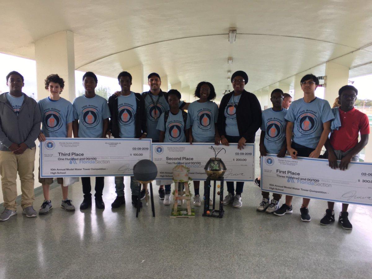 North Miami Wins Waterworks Contest!