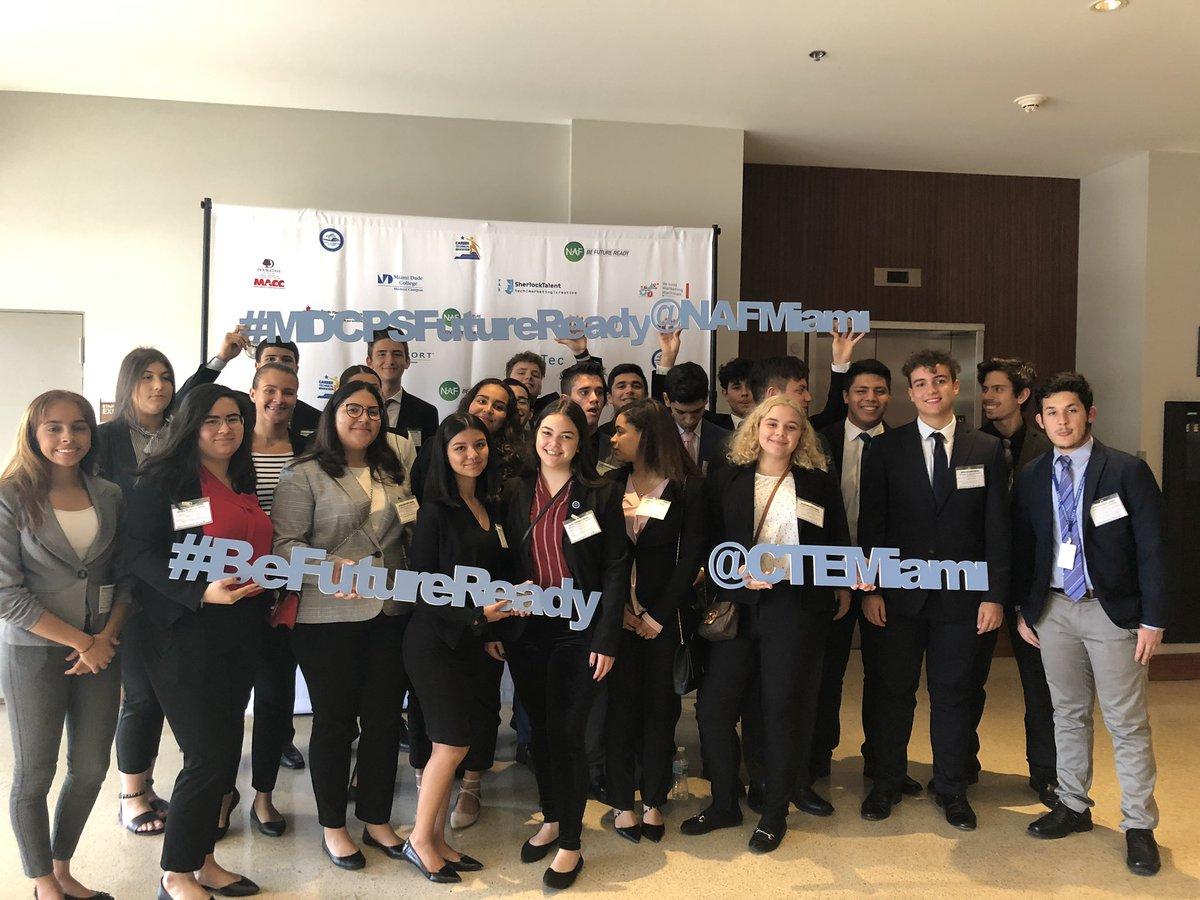 The MEGA NAF Miami Student Conference 2018-2019