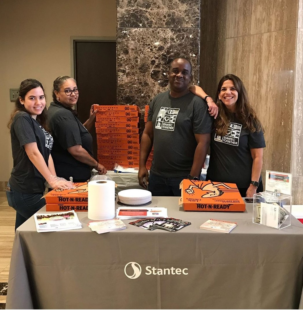 Stantec Pizza Day for STEM Huge Success