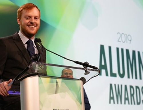 2019 NAF Alumni Award Winner Adam Bernstein, Academy Student now Lead Teacher