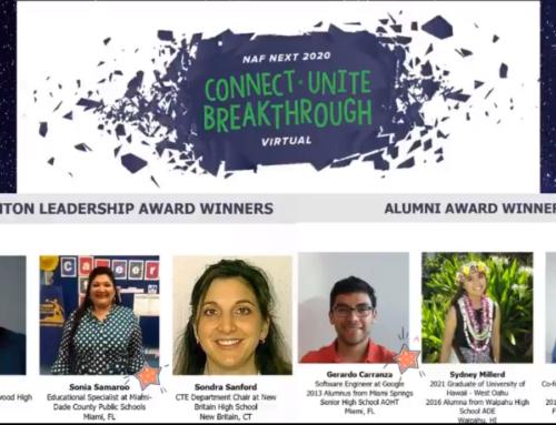 NAF Next 2020 Virtual awards