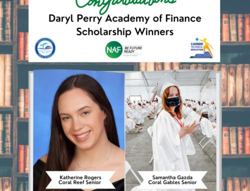 AOF Darryl Perry Scholarship Winners