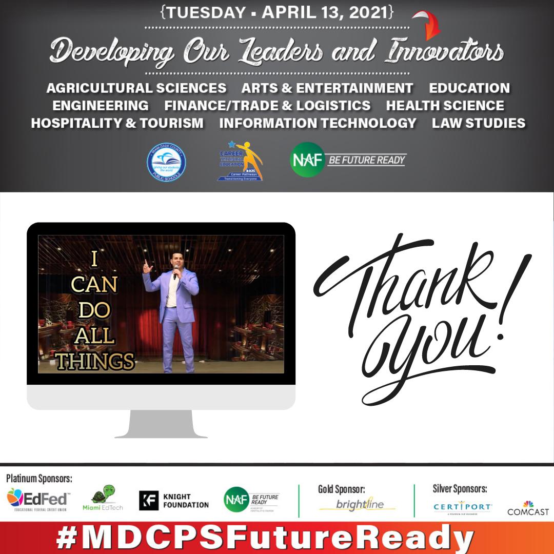 2021 NAF Mega Student Industry Virtual Conference Huge Success