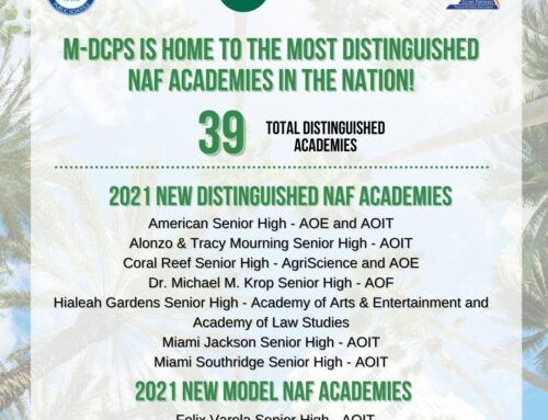 Congratulations to Newly Distinguished and Model Academies!